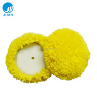 "7"" single-sided wool buffing polishing pad car refinishing"