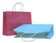 Hot Sale Top Quality Advertising Shopping Kraft Paper Bag 0609011 MOQ 100PCS One Year Quality Warranty