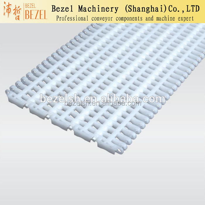 Widely used bottle belt conveyor moular plastic conveyor <strong>chain</strong>