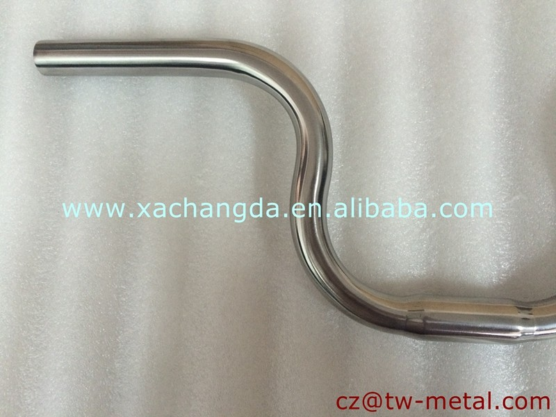 XACD made Titanium BMX bicycle handlerbar Customized bmx bike handle bar