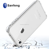 TPU and Acrylic transparent Covers for Apple Iphone4s