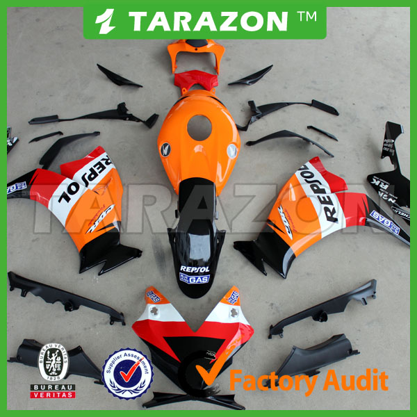 Full Fairing Body Kit Work For CBR1000RR 2012 ABS Plastic