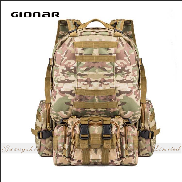 Lightweight Foldable Waterproof Backpack Camouflage Sports Military Tactical Hiking Backpack
