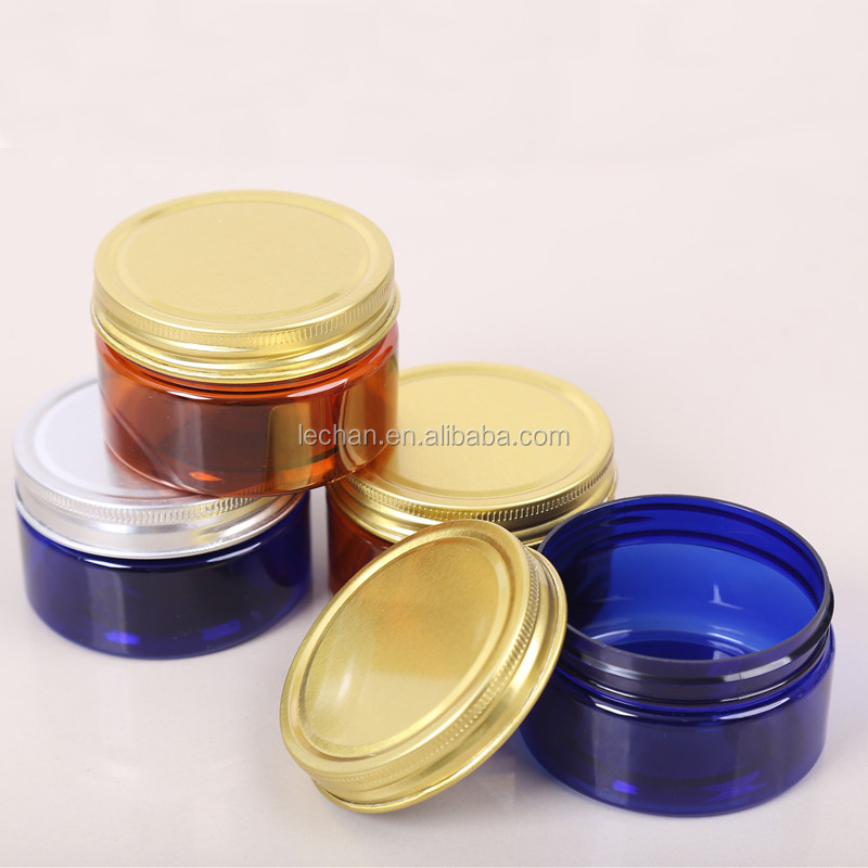 Reliable acrylic PP PET HDPE plastic cosmetic jar