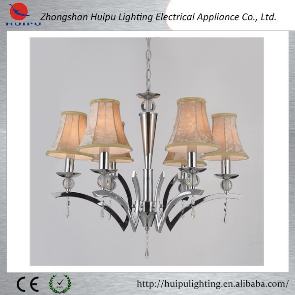 indoor design ideal fabric shades chandelier fixture lighting
