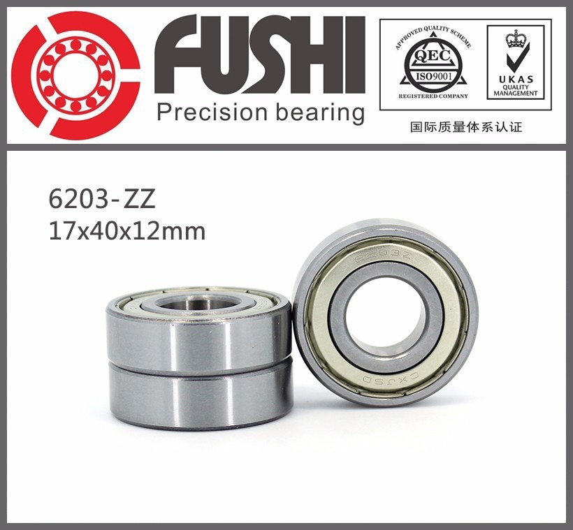 Sealed Bearings Manufacturer 40*17*12mm Electric Motors Deep Groove Ball 6203 Bearing