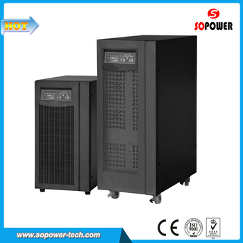 Chinese High Frequency Single Phase Online UPS Power Supply 10KVA