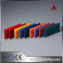High density Two kinds of color plastic hard board