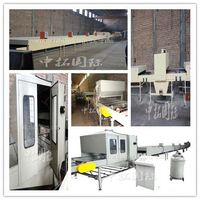 Color stone coated steel roofing making machine, stone coated steel roof tile machine