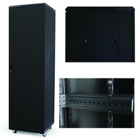 Powder Coating Metal 24u Network Rack