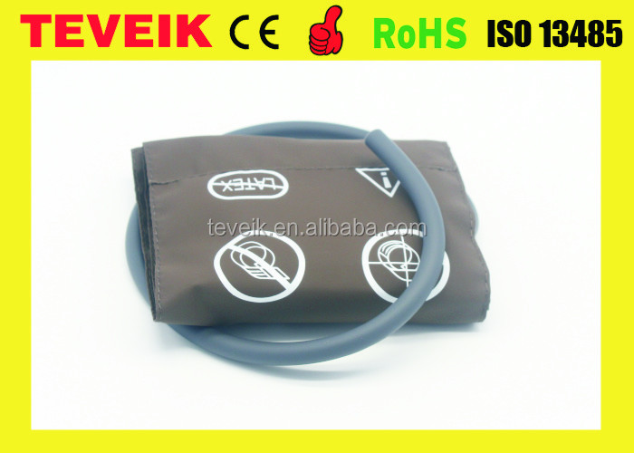 Pediatric Non-Invasive Blood Pressure NIBP Cuff Single Hose PU Material 20.5-28cm with high quality and low price