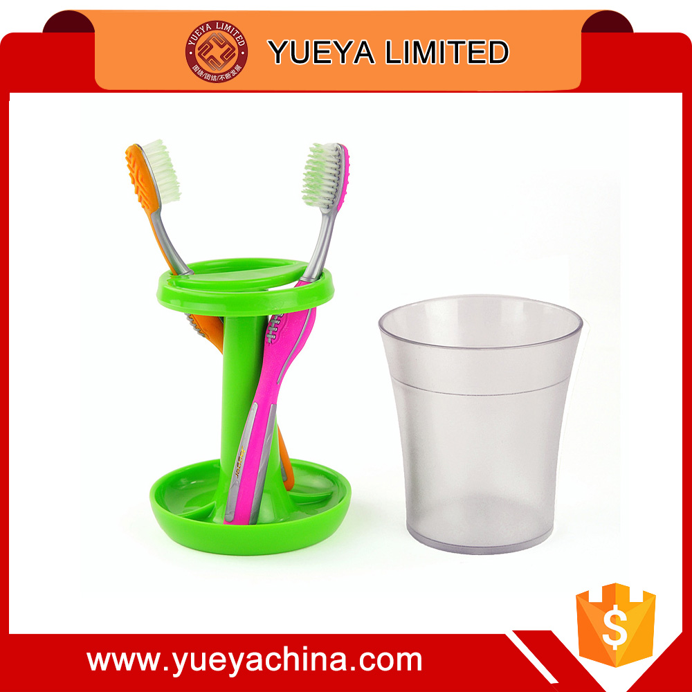 table lamp shaped toothbrush holder tooth cup set