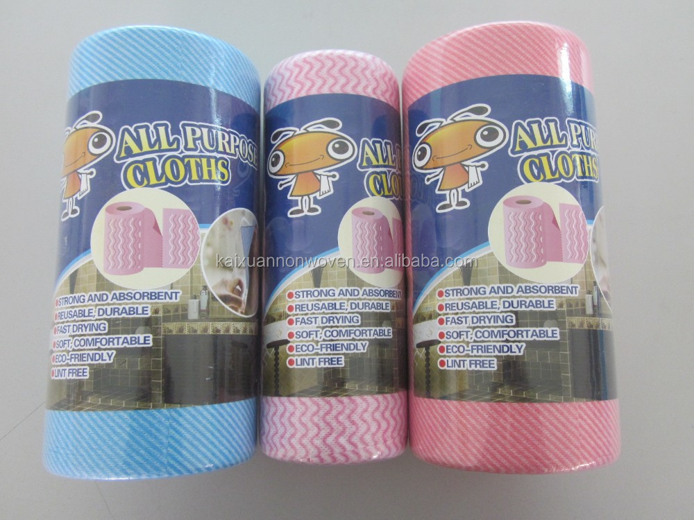 spunlace non woven household clean cloth