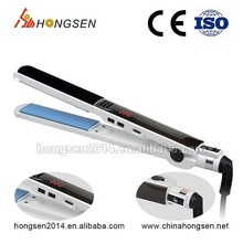 2016 New Arrival Professional Hair Salon Equipment Ceramic Flat Iron ions Hair Straightener