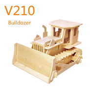 Handmade wooden toy car