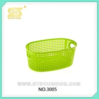PP plastic stoarge basket set with handle