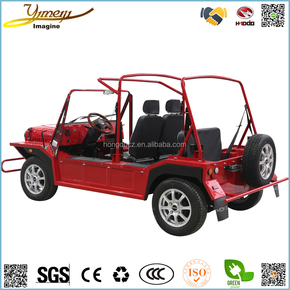 4 seats passenger 4 wheel Macpherson independent suspension electric car