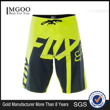2017 Custom Made Sublimated Boardshort Graphics Fox Logo 100% Polyester Drawstring Waistband Surfing Beach Shorts