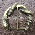 42mm R-0594-147 Beautiful snake enwind cool design men pin buckle lady's fashion buckle with high quality