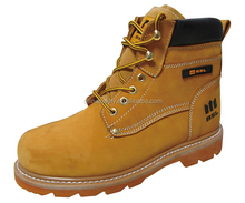 China safety shoes SLS-Y13N6 Leather construction industrial worker working Safety Shoes