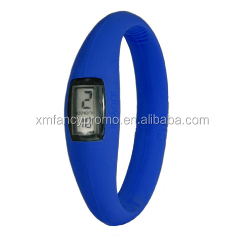 Promotional Silicone Digital Sports Watch With Customer Logo Imprint