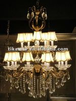 antique crystal pendant lamp