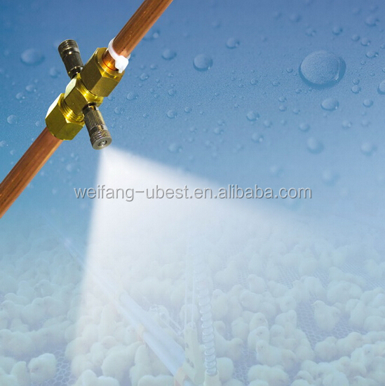 Chicken Poultry Farming used cooling mist fog system