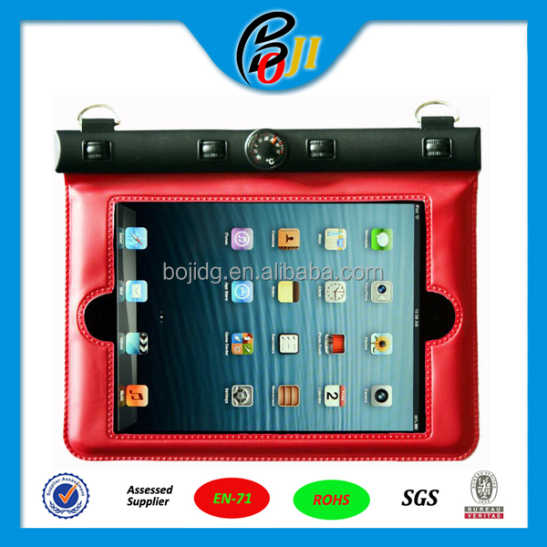 pvc waterproof bag for ipad mini,samsung galaxry tablet,tablet PC bag holder