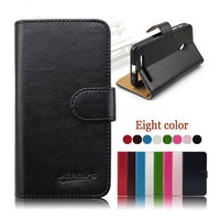 Mix color PU leather case for Asus zenfone 2 ,for asus zenfone 2 case