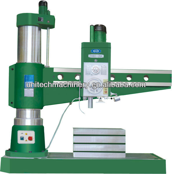 radial arm drilling machine price 80mm