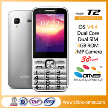 Original Design T2 3G Android 2.8 inch keypad small size mobile phones