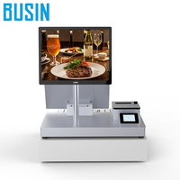 Dual screen POS for supermarket cost of point of sale system