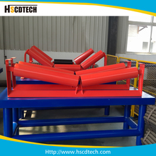 Carrying cylinder steel belt conveyor transition roller