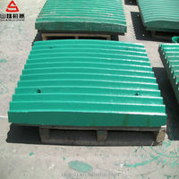high manganese jaw crusher plates jaw dies