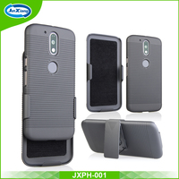 2 in 1 rubberized holster combo case for moto g4 g4 plus