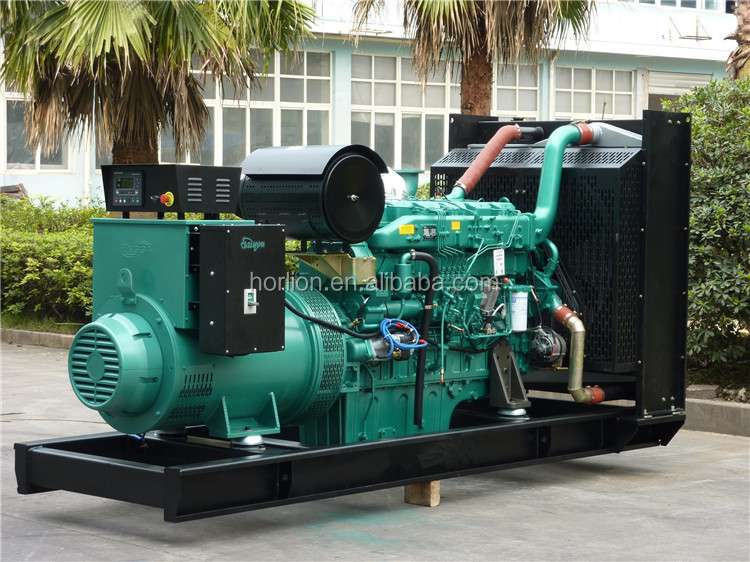 60HZ Open Type Generator 1mw Powered by Cummins Diesel Engine 1000kw