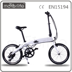 MOTORLIFE electric bike fashion e-bike 250W japan folding bike