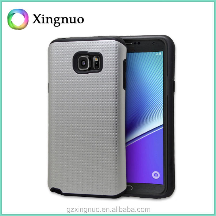 Durable Material Waistline Rugged Armor Case Hybrid Cover for Samsung Galaxy Note 5