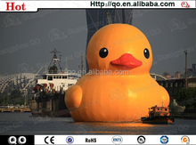 2015 newest custom water floating giant inflatable promotion duck