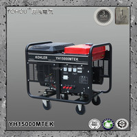 13kw standby ac three phase electric generator strong magnetic power generator gasoline type