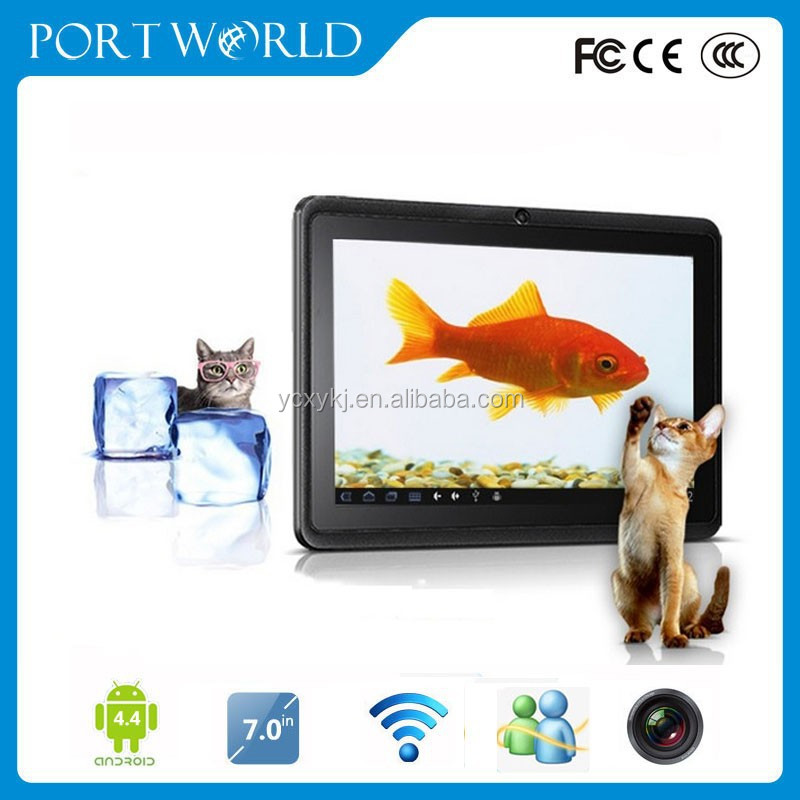 Cheap Tablet Pc A13 Q88 7 Inch Capacitive Screen Android 4.0 Camera Wifi 1.2Ghz