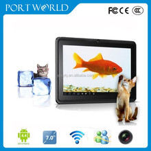 7 inch tablet with dual-core cameras external gps receiver for tablet