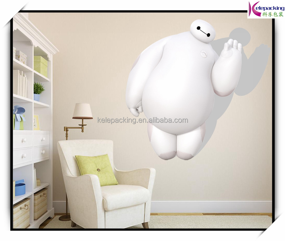 Baymax cartoon charectors wall stickers baby room decor ZY