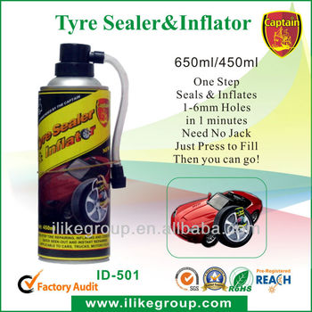 Emergency Spray Can Puncture Repair Emergency Spray Can Puncture Repair 450ml ,650ml ,Tire Sealant & Inflator