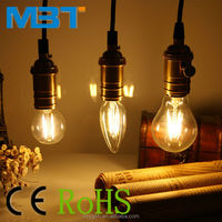 M.B.T LIGHTING E27/E26/B22 eyeshield cheap E27 led bulb filament 2 years warranty