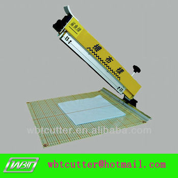 fabric swatch sample cutting machine