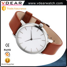 Design your own brand mens custom watch quartz miyota 2035 movement stainless steel watch 316l
