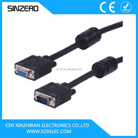 vga 25 pin cable/15 meters vga cable/vga cable male