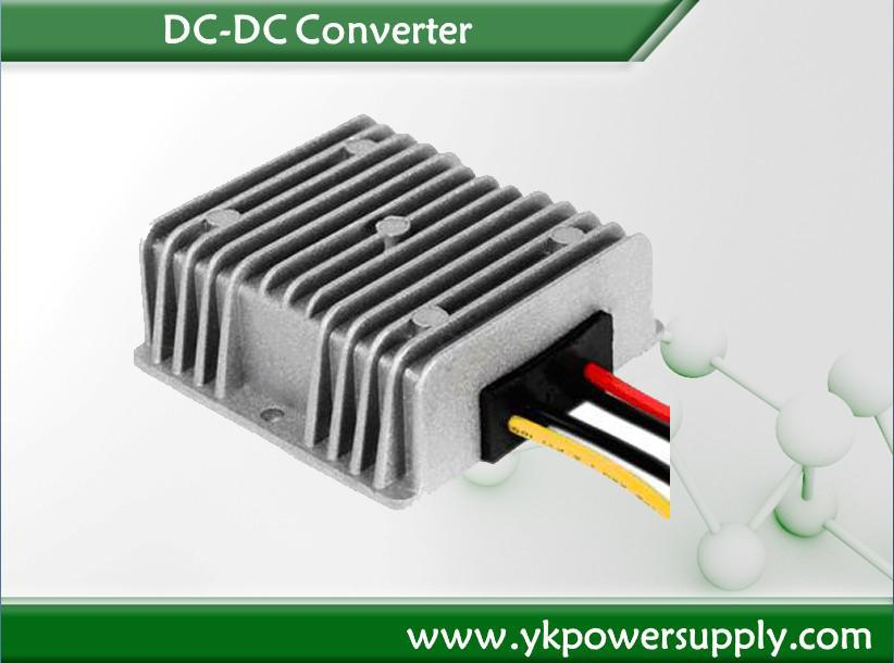 IP67 waterproof 12v / 24v to 36v dc dc converter