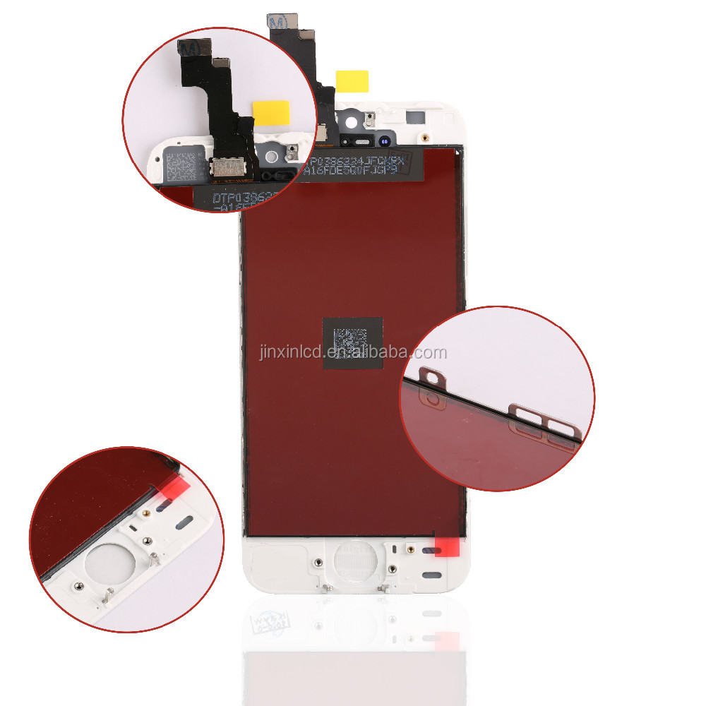 [JX]AAA+ Replacement Digitizer LCD Touch Screen for iphone 5s,Screen for iphone 5s